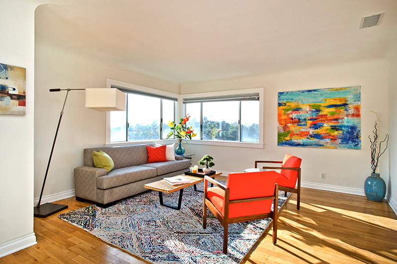 Silverlake staging in Los Angeles